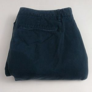 Bonobos straight leg blue pants men's size 33/34